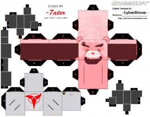 Cubee_Klingon_Bear